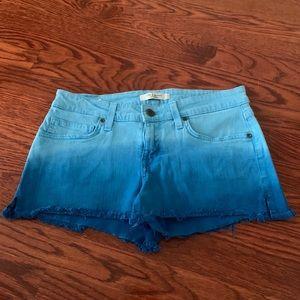 Rich & Skinny Ombré Jean Shorts